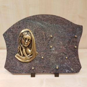 Plaques avec Vierge