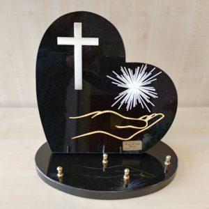 Plaques avec croix